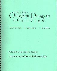 Cover of The Millennium Origami Dragon Challenge