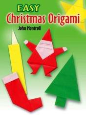 Cover of Easy Christmas Origami by John Montroll