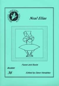 Cover of Neal Elias - Faces and Busts by Dave Venables