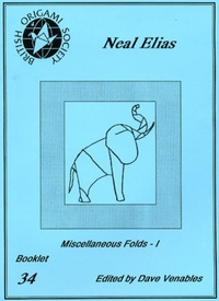Cover of Neal Elias - Miscellaneous Folds - I by Dave Venables