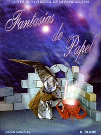 Cover of Fantasias de Papel by Julian Gonzalez