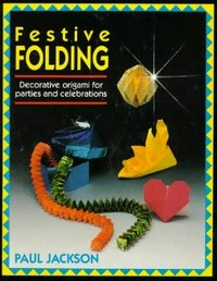 Cover of Festive Folding by Paul Jackson