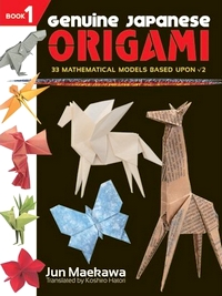 Genuine Japanese Origami Book 1 by Jun Maekawa Book Review  Gilad39;s