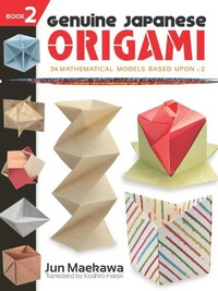 Cover of Genuine Japanese Origami (Book 2) by Jun Maekawa