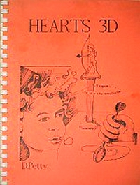 Cover of Hearts 3D by David Petty