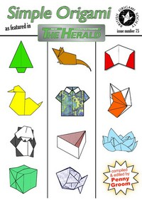 Cover of Simple Origami as Featured in The New Countesthorpe Herald by Penny Groom