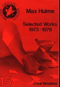 Cover of Max Hulme Selected Works 1973-1979 by Dave Venables