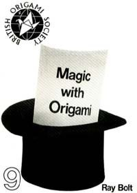 Cover of Magic with Origami by Ray Bolt