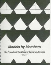 Cover of Models by Members of The Friends of the Origami Center of America