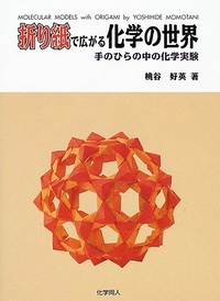 Cover of Molecular Models with Origami by Yoshihide Momotani