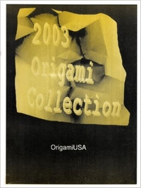 Cover of Origami USA Convention 2003