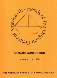 Cover of Origami USA Convention 1986
