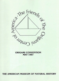 Cover of Origami USA Convention 1987