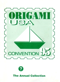 Cover of Origami USA Convention 1995