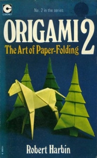 Cover of Origami 2 by Robert Harbin