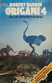 Cover of Origami 4 by Robert Harbin