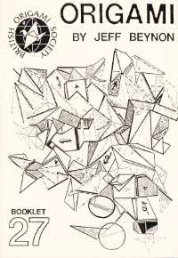Cover of Origami by Jeff Beynon by Jeff Beynon