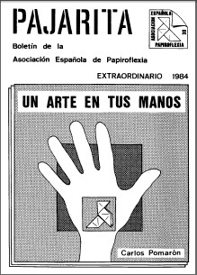 Cover of Pajarita Extra 1984 - Art in Your Hand by Carlos Pomaron Arbues