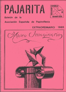 Cover of Pajarita Extra 1985 - Museo Imaginario