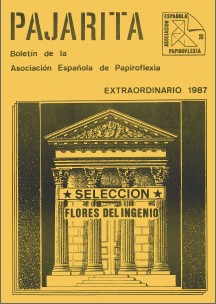 Cover of Pajarita Extra 1987 - Flowers of Wit