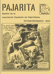 Cover of Pajarita Extra 1992