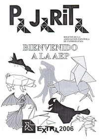 Cover of Pajarita Extra 2006 - Welcome to AEP by Fernando Gilgado Gomez