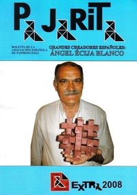 Cover of Pajarita Extra 2008 - Angel Ecija Blanco by Angel Ecija Blanco
