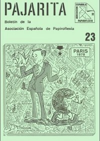 Cover of Pajarita Magazine 23