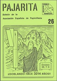Cover of Pajarita Magazine 26