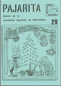 Cover of Pajarita Magazine 29