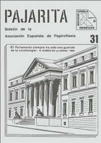 Cover of Pajarita Magazine 31