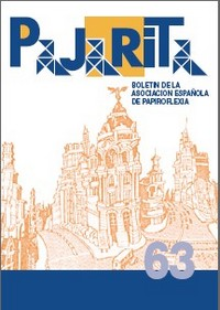 Cover of Pajarita Magazine 63