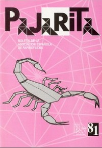 Cover of Pajarita Magazine 81