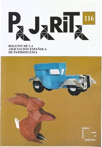 Cover of Pajarita Magazine 116