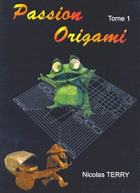 Cover of Passion Origami by Nicolas Terry