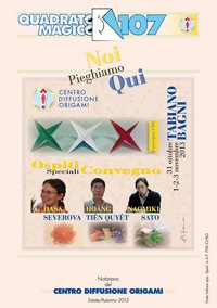 Cover of Quadrato Magico Magazine 107