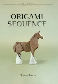 Cover of Origami Sequence by Quentin Trollip