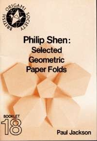 Cover of Philip Shen: Selected Geometric Paper Folds by Paul Jackson