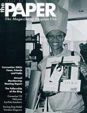Cover of The Paper Magazine 82