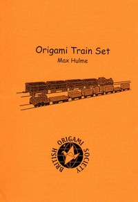 Cover of Origami Train Set by Max Hulme
