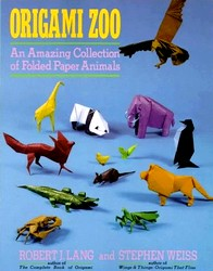 Cover of Origami Zoo by Robert J. Lang and Stephen Weiss