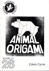 Cover of Animal Origami by Edwin Corrie