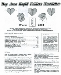 Cover of BARF 2001 Winter by Jeremy Shafer
