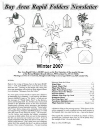 Cover of BARF 2007 Winter by Jeremy Shafer