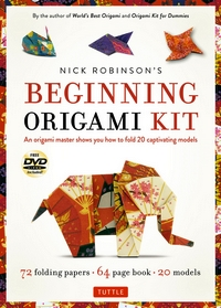 Cover of Nick Robinson's Beginning Origami Kit by Nick Robinson