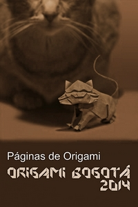 Cover of Bogota Origami Convention 2014