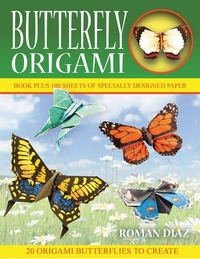 Cover of Butterfly Origami by Roman Diaz