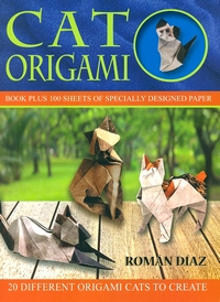 Cover of Cat Origami by Roman Diaz