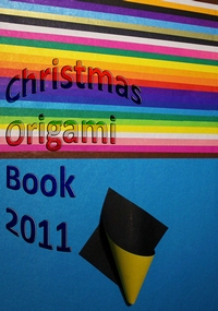 Cover of Christmas Origami Book 2011