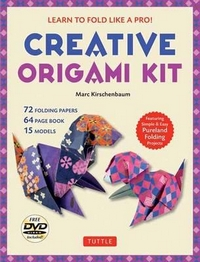 Cover of Creative Origami Kit by Marc Kirschenbaum